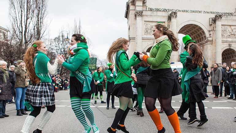 St2. Patricks Day in Muenchen