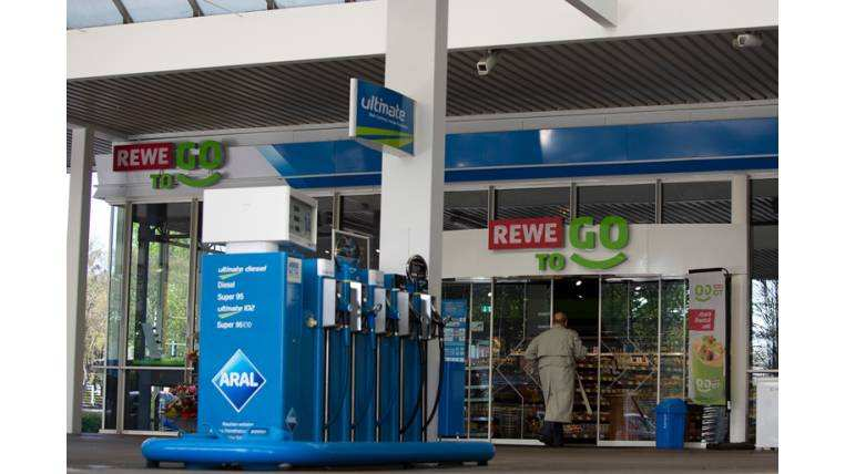 Rewe To Go bei Aral