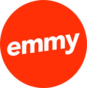 emmy logo red digital